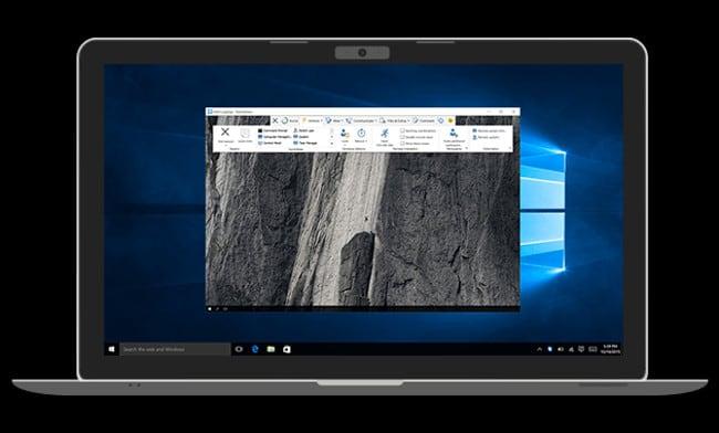Teamviewer на ноутбуке