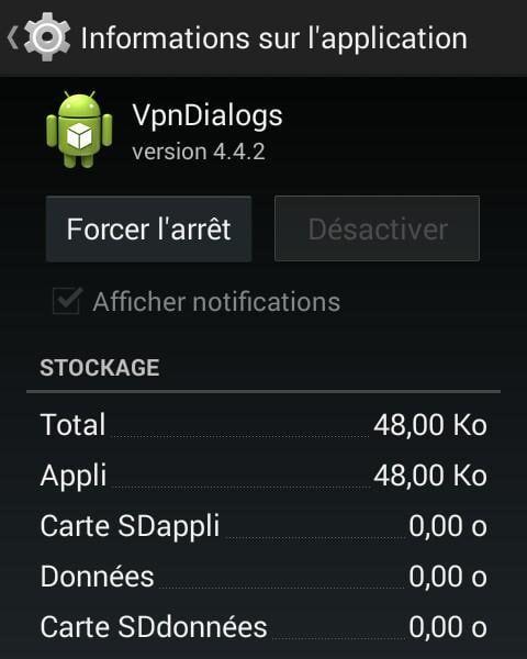 Окно свойств программы VpnDialogs