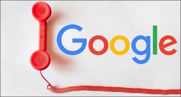 Изображение телефонная трубка Google