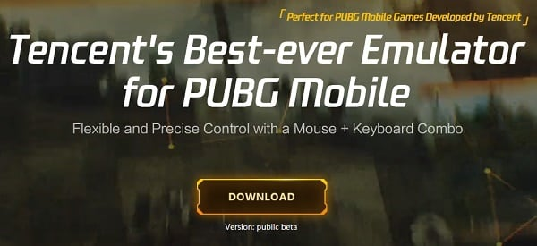 """Tencent Gaming Buddy"" создан специально для запуска ""PUBG Mobile"" на PC"