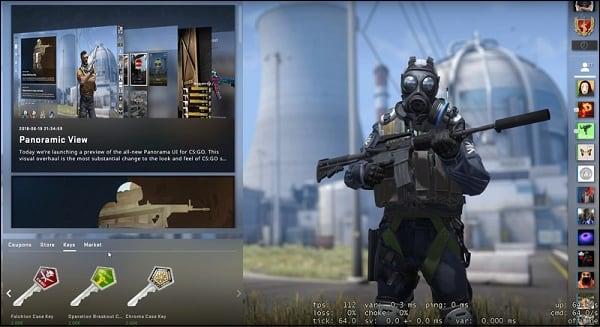 Новый интерфейс Panorama UI