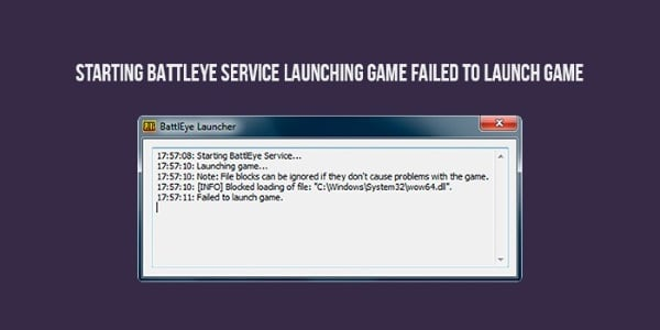 Сообщение Starting Battleye
