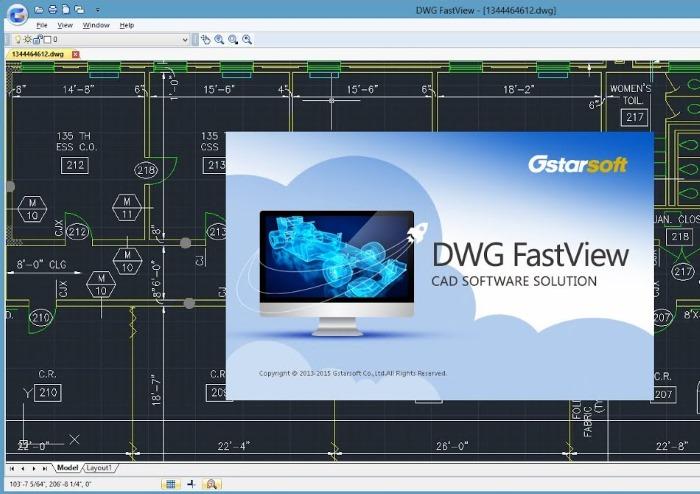 Программа DWG FastView