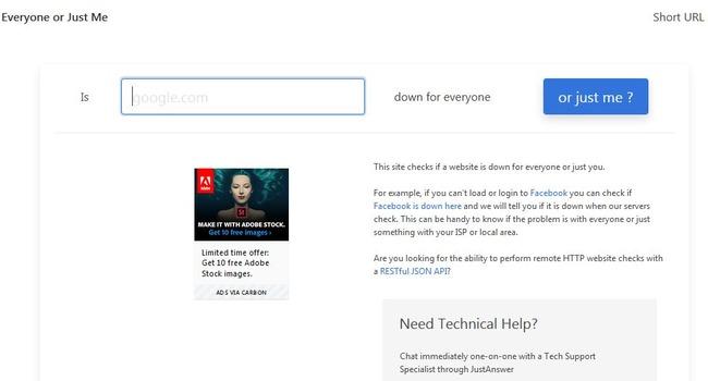Сайт для быстрой диагностики онлайн-ресурсов