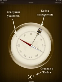 Сторона на компасе
