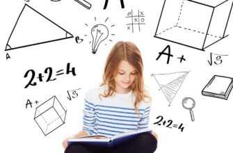 Картинка девочка математика