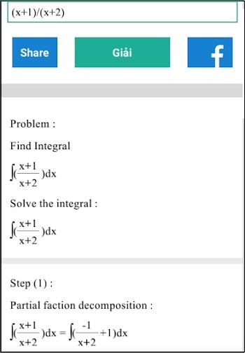 Решение математики