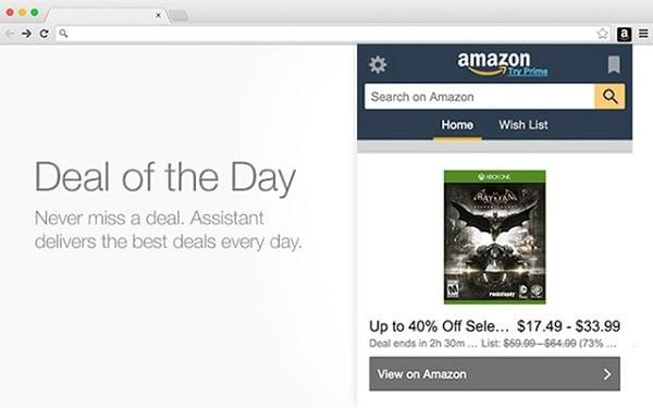 Скриншот приложения Амазон