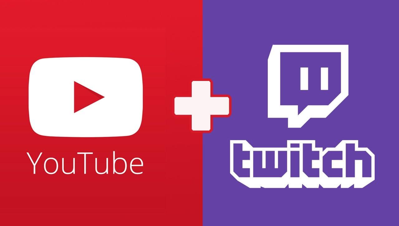 Трансляция стримов на YouTube и Twitch